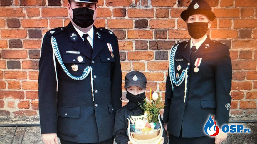 Strażacka święconka OSP Nowe Miasto OSP Ochotnicza Straż Pożarna