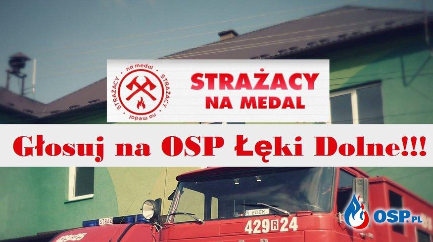 Strażacy na medal - pomóż w konkursie! OSP Ochotnicza Straż Pożarna