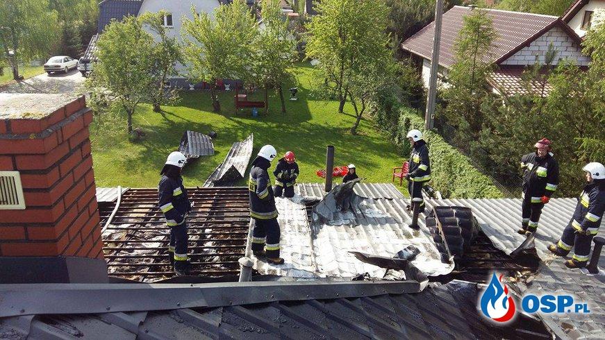 Wyjazd 14/2016 - pożar przedszkola OSP Ochotnicza Straż Pożarna