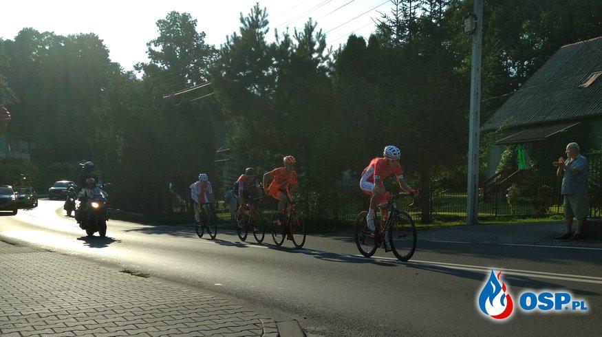 Zabezpieczenie pierwszego etapu 75. Tour de Pologne OSP Ochotnicza Straż Pożarna