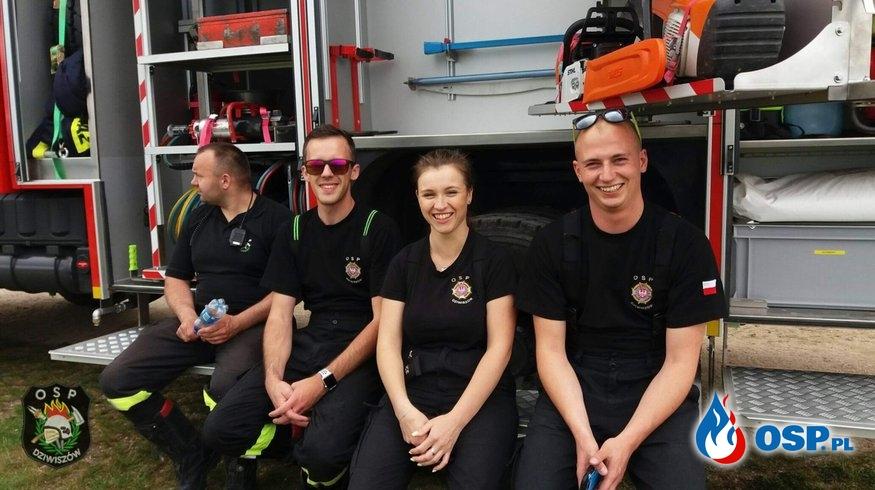 Strażacy podczas festynu na Górze Szybowcowej! OSP Ochotnicza Straż Pożarna