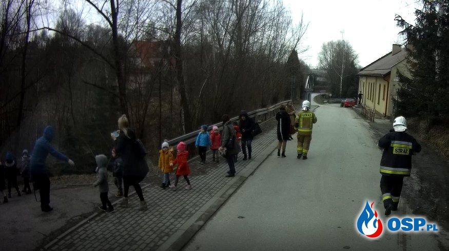 Kolejny fałszywy alarm bombowy w Przedszkolu Samorządowym - 23 marca 2021r. OSP Ochotnicza Straż Pożarna