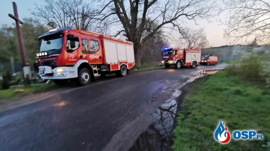 Poszukiwania w Witnicy OSP Ochotnicza Straż Pożarna