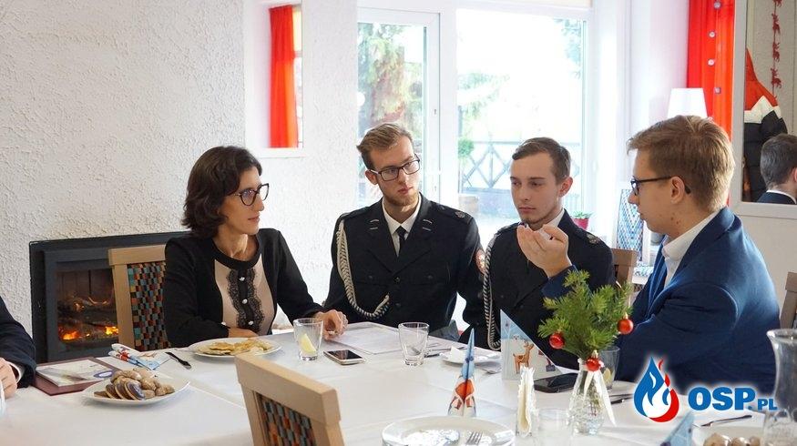 Zaproszenie do Wspólnego Stołu z Młodzieżową Radą Miejską. OSP Ochotnicza Straż Pożarna