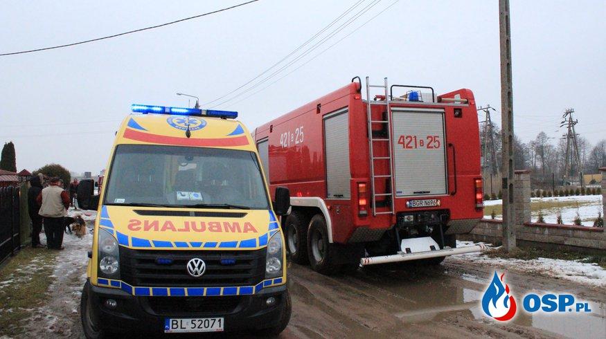 Pożar piwnicy w Szczuczynie OSP Ochotnicza Straż Pożarna