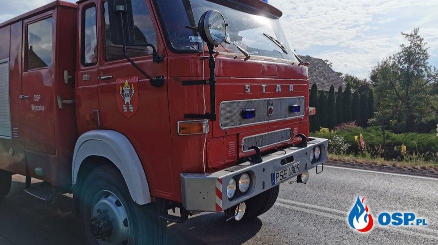Wyjazdy alarmowe OSP Wyrzeka w miesiącu lipcu. OSP Ochotnicza Straż Pożarna