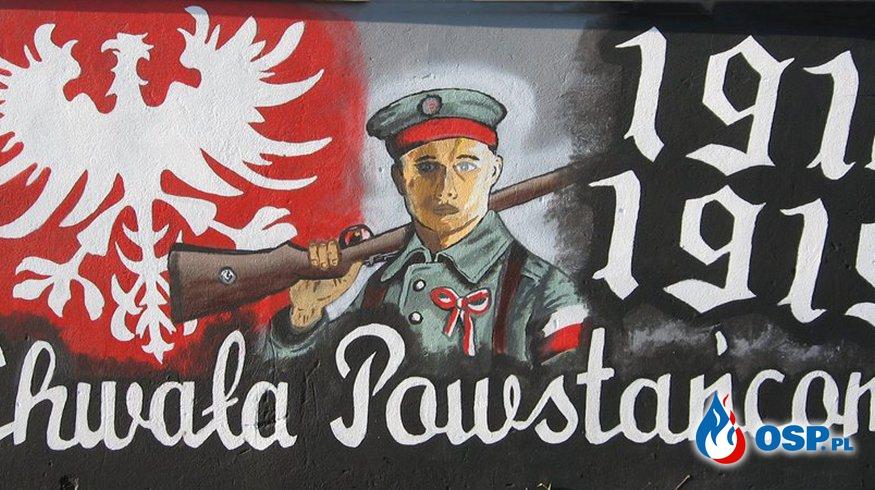 97 rocznica wybuchu Powstania wielkopolskiego OSP Ochotnicza Straż Pożarna