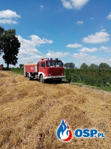 Pożar stogu w miejscowości Bąkowo OSP Ochotnicza Straż Pożarna