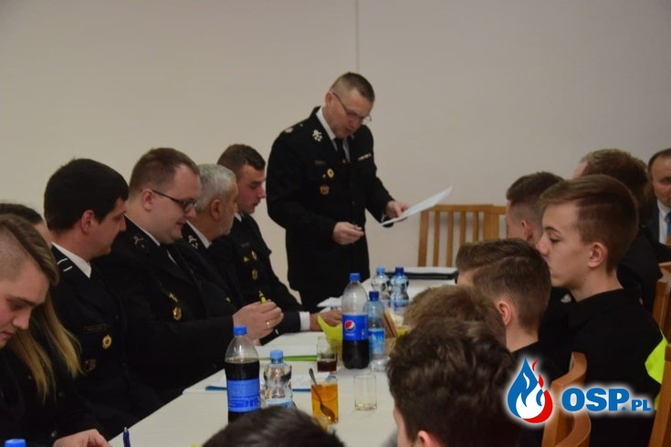 Podsumowaliśmy 2019 rok - Walne Zebranie Sprawozdawcze OSP OSP Ochotnicza Straż Pożarna