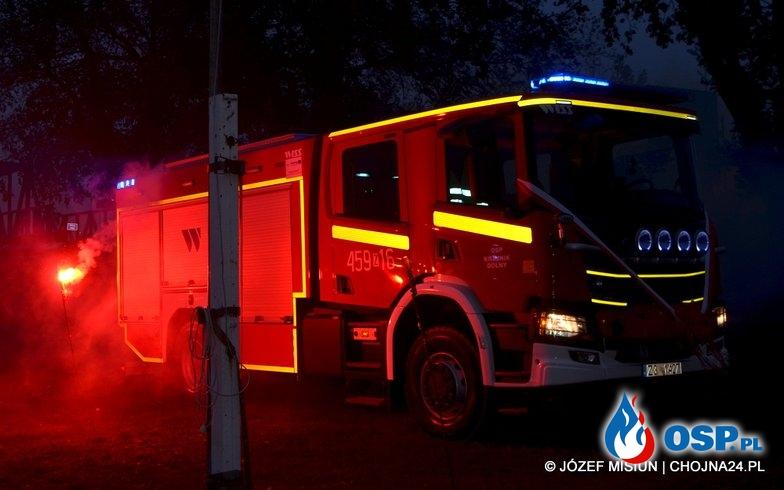 Poświęcenie nowego fabrycznego samochodu ratowniczo-gaśniczego SCANIA P360 4x4 OSP Ochotnicza Straż Pożarna
