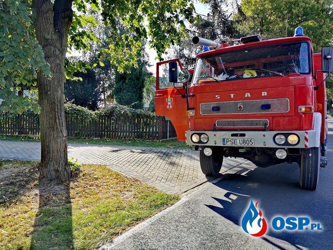Wyjazdy alarmowe OSP Wyrzeka w miesiącu sierpniu. OSP Ochotnicza Straż Pożarna