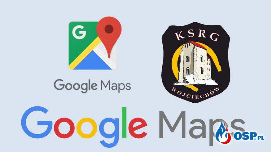 OSP Wojciechów w Mapach Google OSP Ochotnicza Straż Pożarna