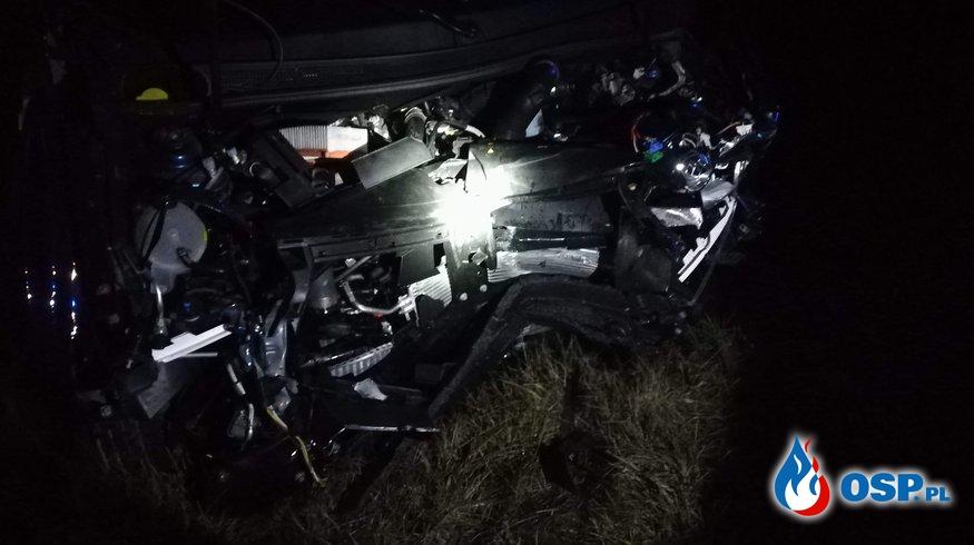 Poważny wypadek na obwodnicy Gniezna !!! OSP Ochotnicza Straż Pożarna