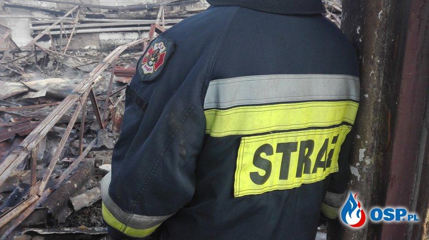 ALARM! Pożar Kurnika-Dąbie 30.10.2017 OSP Ochotnicza Straż Pożarna
