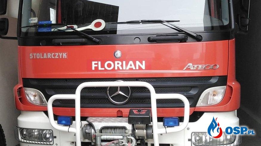 Nowy samochód w naszej jednostce Mercedes-Benz 1326 4x4 OSP Ochotnicza Straż Pożarna