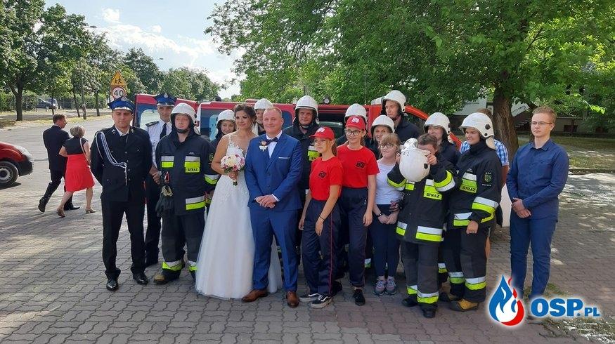 Ślub naszego druha! OSP Ochotnicza Straż Pożarna