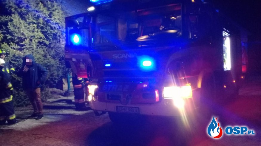 Pożar budynku jednorodzinnego w Olbrachcicach OSP Ochotnicza Straż Pożarna