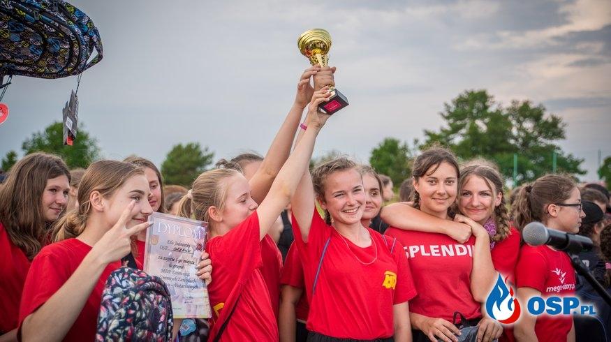 Zwycięstwo dziewcząt z MDP Grębów w gminnych zawodach sportowo-pożarniczych! OSP Ochotnicza Straż Pożarna