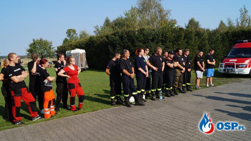 Ćwiczenia z ratownictwa technicznego oraz wypadków masowych. OSP Ochotnicza Straż Pożarna