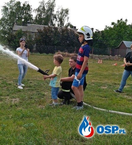 Festyn z okazji Dnia dziecka - Wólka Orchowska 2019 OSP Ochotnicza Straż Pożarna