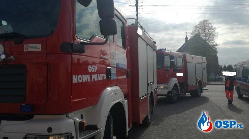 Alarmy w Zespole Szkół im. Integracji Europejskiej w Nowym Mieście OSP Ochotnicza Straż Pożarna