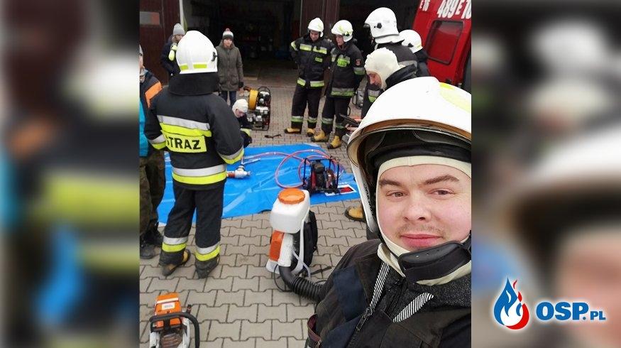 Druh-majsterkowicz skonstruował tani system alarmowania strażaków OSP Ochotnicza Straż Pożarna