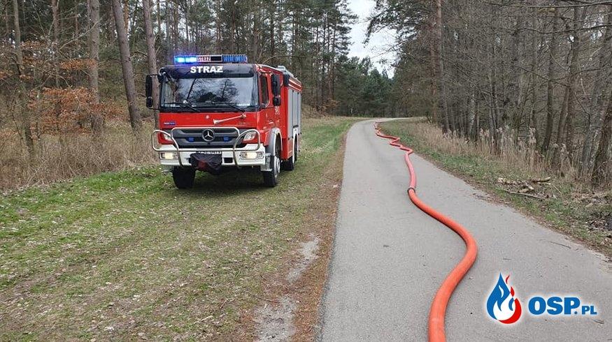 Biały Bór Zalana Piwnica OSP Ochotnicza Straż Pożarna