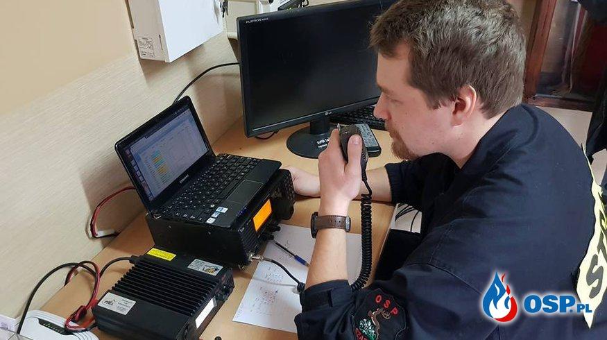 Okolicznościowa stacja radioamatorska  OSP Ochotnicza Straż Pożarna