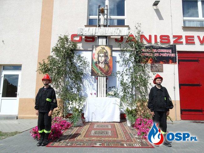 Procesja Bożego Ciała OSP Ochotnicza Straż Pożarna