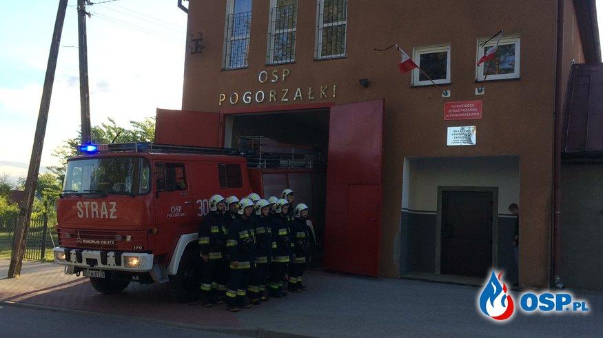 HOŁD POLEGŁYM KOLEGOM Z JRG 1 BIAŁYSTOK OSP Ochotnicza Straż Pożarna