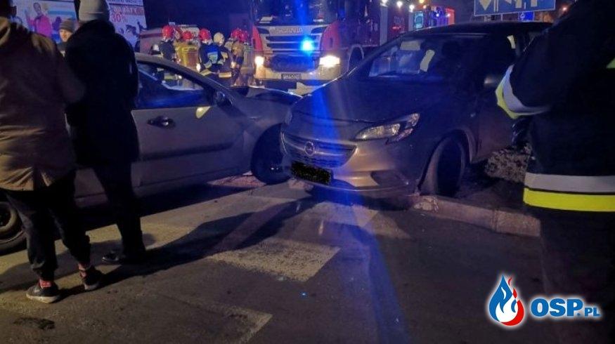 Wronki – wypadek drogowy OSP Ochotnicza Straż Pożarna