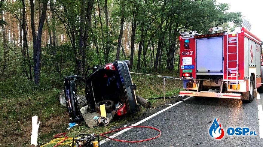 143/2019 Tragiczny wypadek na DK26 OSP Ochotnicza Straż Pożarna