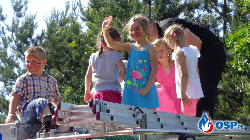 Dzień Rodziny w przedszkolu w Zręcinie OSP Ochotnicza Straż Pożarna