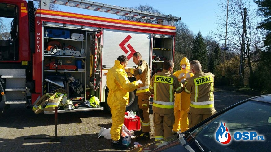 Poranna akcja w Przyjezierzu OSP Ochotnicza Straż Pożarna