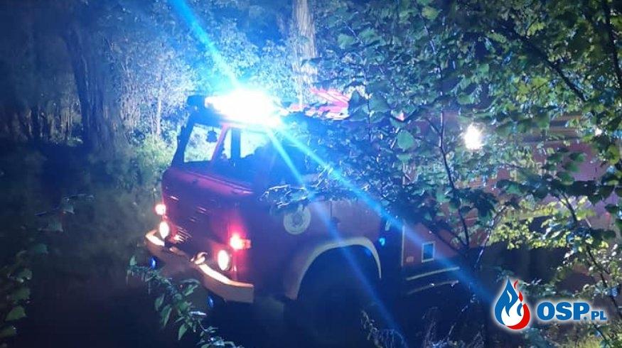 Mogło być na prawdę tragicznie... OSP Ochotnicza Straż Pożarna