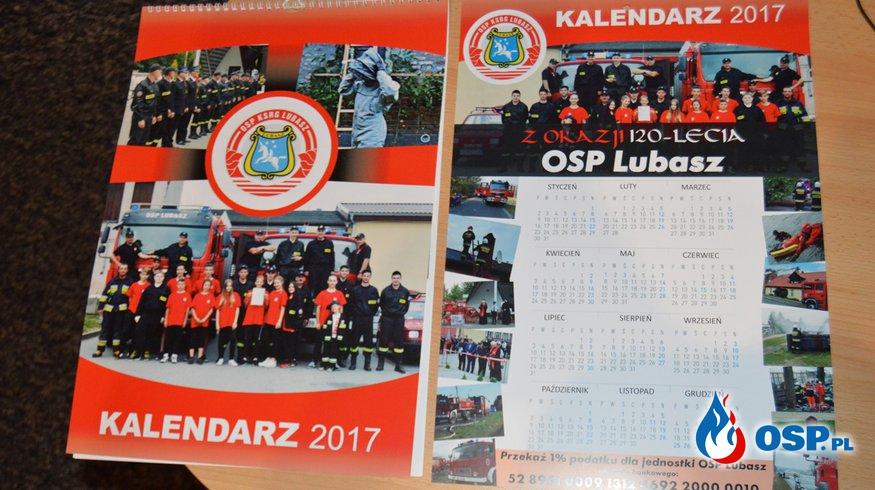 Akcja kalendarze 2017 ! OSP Ochotnicza Straż Pożarna