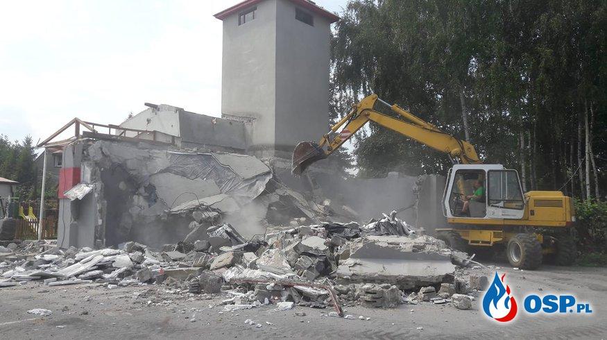 Budowa nowej remizy w Szarowie OSP Ochotnicza Straż Pożarna