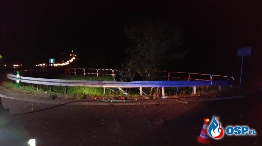 Wypadek na Zakopiance OSP Ochotnicza Straż Pożarna