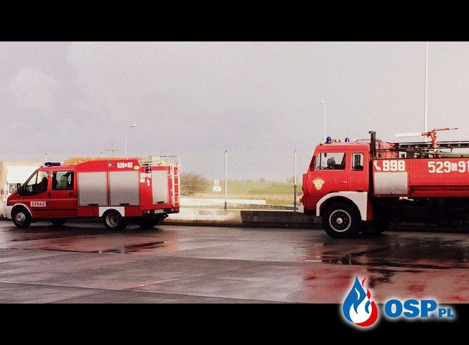 """Ćwiczenia magazyn """"Netto' Kopytkowo  OSP Ochotnicza Straż Pożarna"""