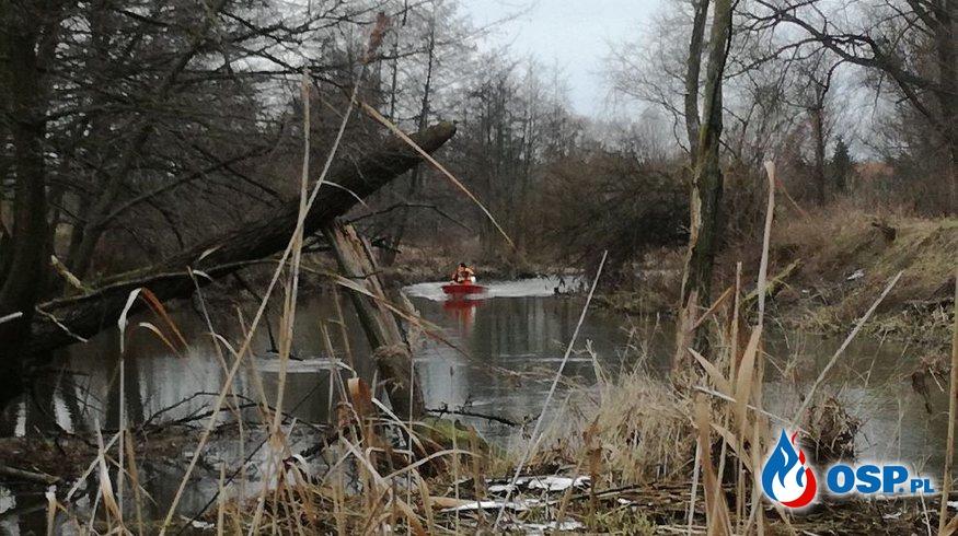 Kolejny dzień poszukiwań mężczyzny OSP Ochotnicza Straż Pożarna