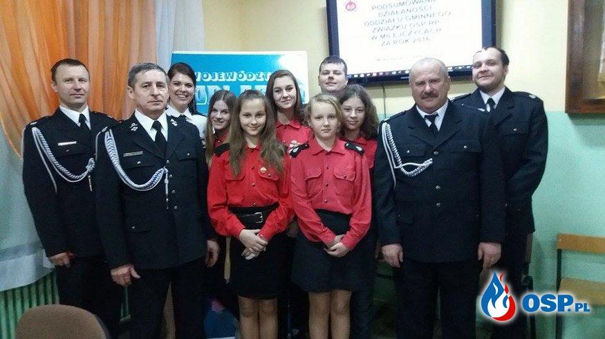 Zebranie sprawozdawcze ZOG ZOSP RP W Milejczycach OSP Ochotnicza Straż Pożarna