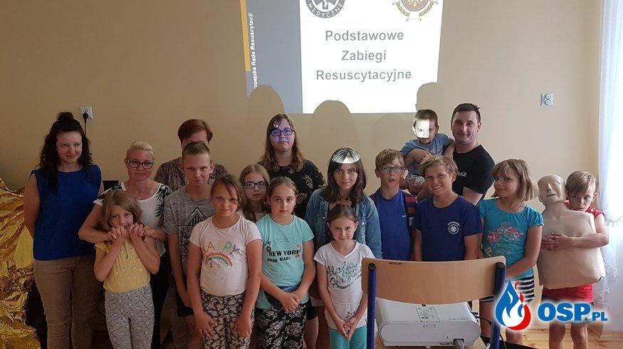 Prelekcja Świetlice Kwidzyn 2018 OSP Ochotnicza Straż Pożarna