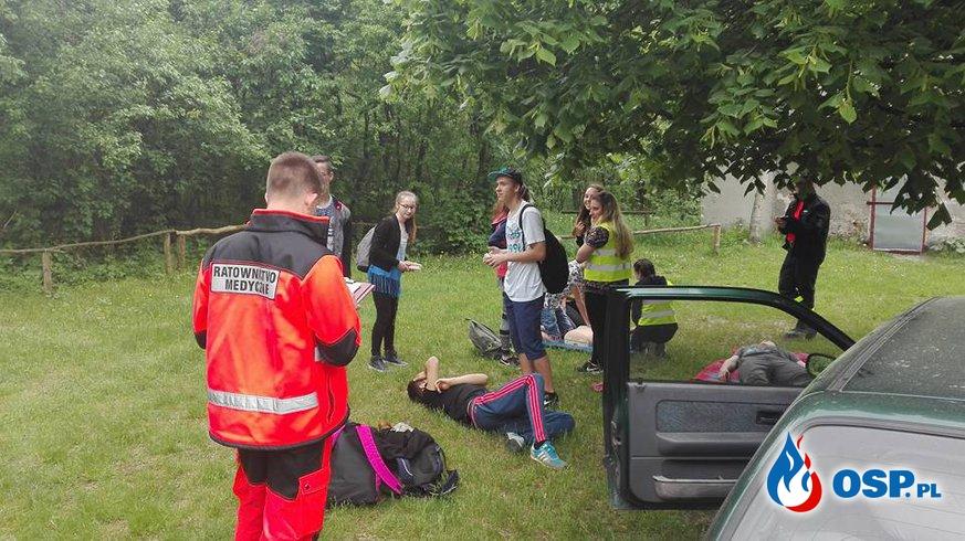 XVIII Wielkopolski Rajd Młodzieżowych Drużyn Pożarniczych Wrąbczynek-Pyzdry 2017 OSP Ochotnicza Straż Pożarna