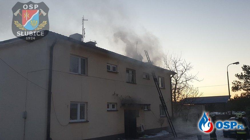 Intensywne zadymienie spowodowane pożarem sadzy [WIDEO] OSP Ochotnicza Straż Pożarna