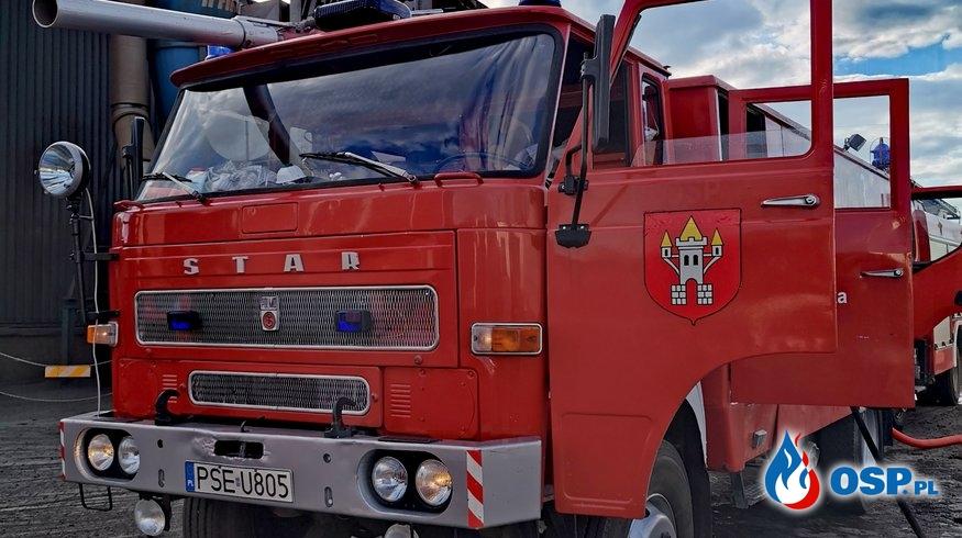 Kolejne dni w Pyszącej oraz pożar maszyny produkcyjnej. OSP Ochotnicza Straż Pożarna