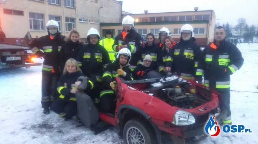 24. Finał WOŚP- pokaz ratownictwa technicznego naszych strażaków ! [FILM] OSP Ochotnicza Straż Pożarna