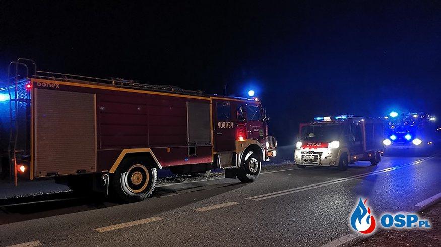 pożar nieużytków - Niedary OSP Ochotnicza Straż Pożarna