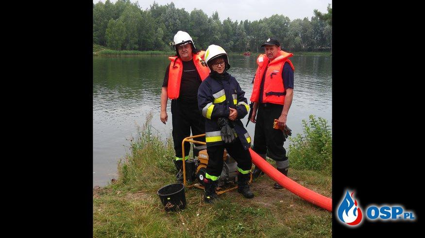 """Ćwiczenia z zakresu ratownictwa powodziowego pod krypt.  """"Powódź XII/18"""" OSP Ochotnicza Straż Pożarna"""