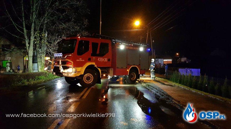 Potrącenie pieszego ze skutkiem śmiertelnym OSP Ochotnicza Straż Pożarna