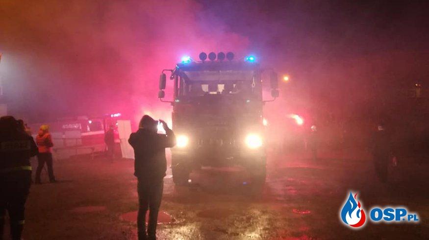 Powitanie nowego samochodu ratowniczo - gaśniczego GBA MAN - film OSP Ochotnicza Straż Pożarna